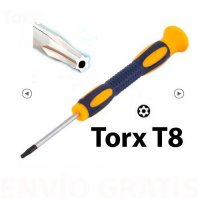 (04) Torx 8 holle punt Schroevendraaier