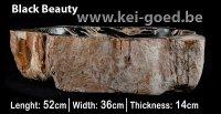 Versteend hout wastafels fossiel steen waskommen