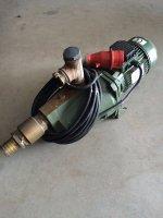 Waterpomp met 8 sproeiers + 1