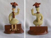 Dreamworks Chicken Run figuur x 2