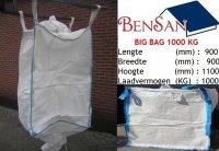 Aangeboden: 1000 kg big bag met uitloop bulk containers bensan enter n.o.t.k.