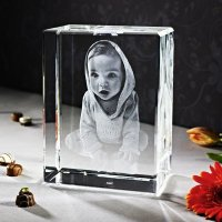 Uw mooiste foto 3D in glaskristal