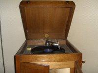 Zeer mooie antieke grammafoon