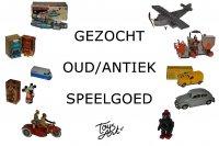 GEZOCHT Defect & Compleet Oud Speelgoed