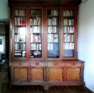 Unieke Antieke Grote Bibliotheek,buffetkast, Winkelkast En Massief ...