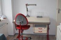 Moll bureau +bijbehorende bureaustoel