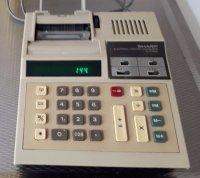 Sharp elecktrische rekenmachine EL-2168A