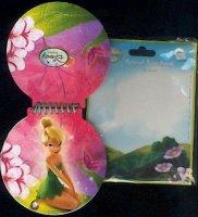 Tinkerbell  Disney Fairy op schrijfboekje