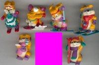 Kinder Surprise HP Skibunny x 8