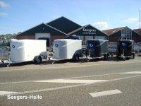Debon gesloten polyester Cargo aanhangwagen, gesloten