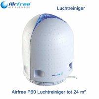 Airfree P60 Luchtreiniger 24 m² met