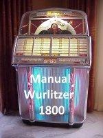 Aangeboden: Boek of CD voor Wurlitzer 1800 t.e.a.b.