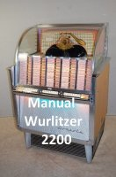 Manual boekwerk Wurlitzer 2200