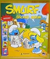 Smurf Panini sticker-album (NL) van 2008