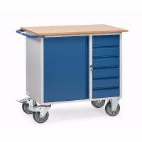 Werktafel, Werkplaatswagen van Staalplaat
