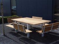 Design picknicktafel tuintafel terrastafel lunchtafel