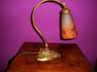 Art Deco Table Lamp Degue France