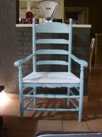 Provençaalse stoel.