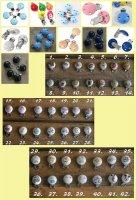 Houten speenclips (blank en in kleur