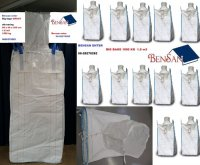 Aangeboden: 1500 kg big bag met uitloop bulk containers bensan enter € 3,-