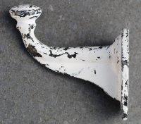 Kapstokhaak Antiek van gietijzer grijs KH536