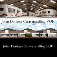 Vouwwagenstalling, caravanstalling caravantransport.