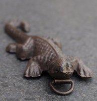 Aangeboden: Kleine gekko/salamander van gietijzer SG310 € 3,50