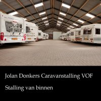 Nette caravanstalling