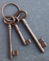 Leuke gietijzeren sleutelbos voor decoratie SB303