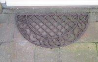 Gietijzeren deurmat halfrond van Esschert Design