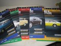 Aangeboden: Opel collection folders magazines € 1,-