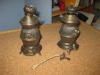 Bronze olie lampen