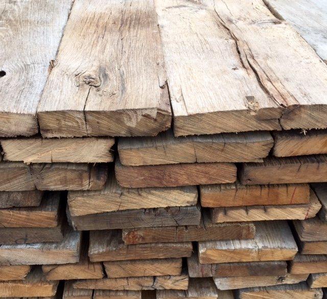 Wonderlijk Oud Eiken (Balken En Planken) te Koop Aangeboden op Tweedehands.net DH-04