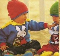 Aangeboden: Breipatroon 1432 zestien nijntje truien € 3,50