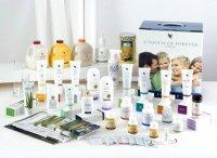 Gezondheid en schoonheid producten op natuurlijke