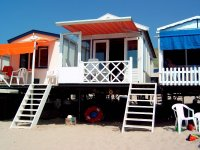 Luxe Slaapstrandhuisje aan zee in Vlissingen