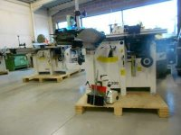 Nieuwe combinatiemachines C300+400mm schaafbreedte