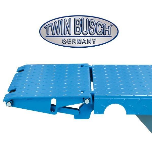 Mobiele schaarbrug schaarhefbrug bandenbrug 3ton 400 230v for Goedkope kappersstoel