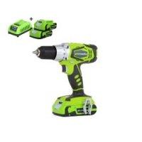 Super aanbieding, Greenworks 24V Accu-Boormachine, Slagmoersleutel