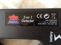 3 in 1 detector