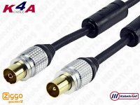 Coax premium antennekabel - Ziggo geschikt
