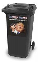 De 'Trump Dump' kliko container ook