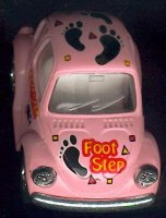Volkswagen Beetle Kintoy foot step decor