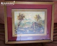 Emil Bott authentiek schilderij gesigneerd