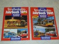 Strassenbahn Jahrbuch 2001 + Jahrbuch 2002