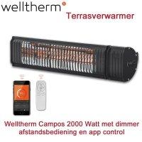 Welltherm Campos Terrasverwarmer 2000 Watt met