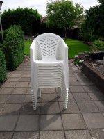 Stapel stoelen