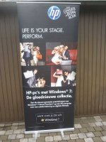 2 Display Roll up banners €