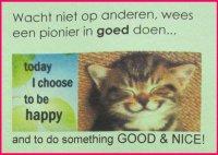 Doe iets goeds