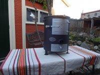 Houtkachel Mini, BBQ of terraskachel